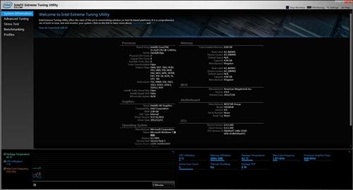 英特尔超频软件(Intel Extreme Tuning Utility)v7.5.2.3官方正式版