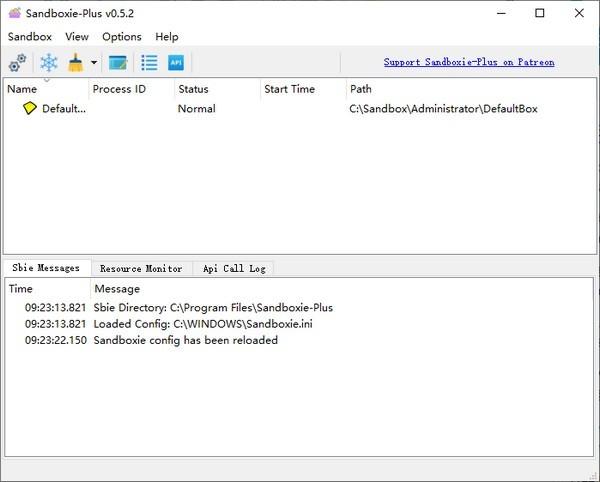 Sandboxie Plus(沙箱软件)v0.96最新版