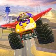 越野飞行怪物卡车驾驶游戏